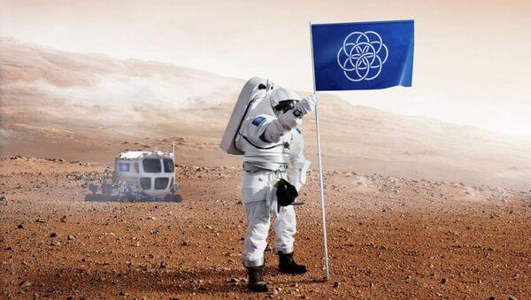 İsveçli tasarımcıdan Dünya bayrağı - Sputnik Türkiye