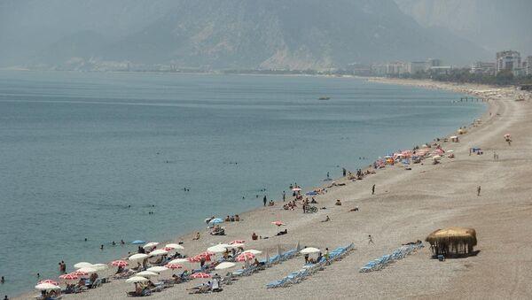 Antalya'da turistler - Sputnik Türkiye
