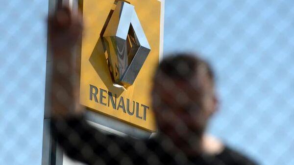 Renault işçilerinin eylemi - Sputnik Türkiye