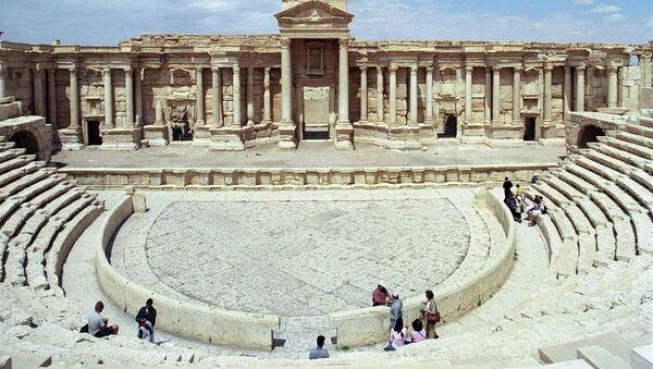 Antik kent Palmira, UNESCO'nun Dünya Kültür Mirası listesinde. - Sputnik Türkiye