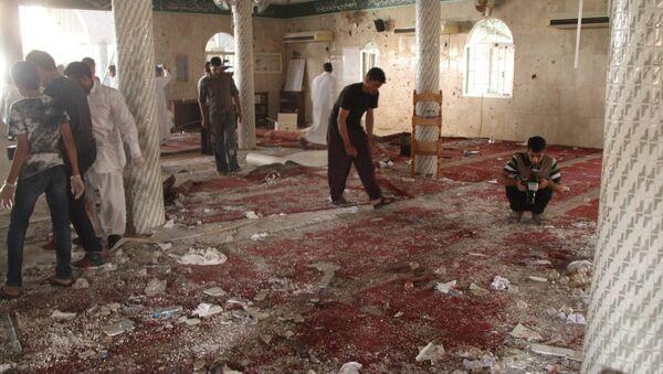 Suudi Arabistan'da Şii camisine bombalı saldırı - Sputnik Türkiye