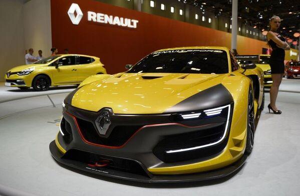 Fuarda Renault Sport R.S. 01 modelini tanıttı. - Sputnik Türkiye