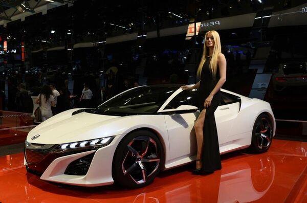 Fuarda Honda yeni modellerini tanıttı. - Sputnik Türkiye
