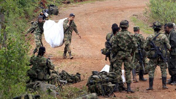 Kolombiya FARC - Sputnik Türkiye