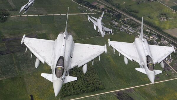NATO uçakları-Haftanın fotoğrafları - Sputnik Türkiye