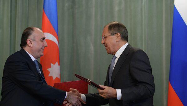 Sergey Lavrov & Elmar Memmedyarov - Sputnik Türkiye
