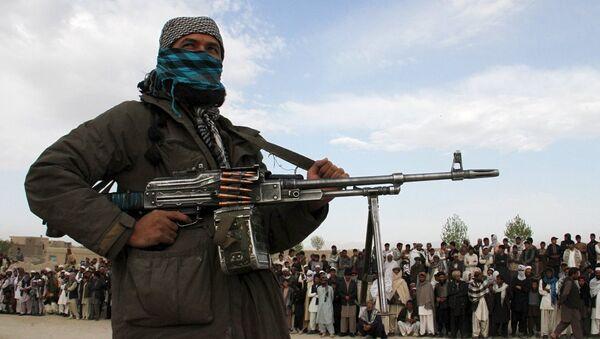 Afganistan'da Taliban militanı - Sputnik Türkiye