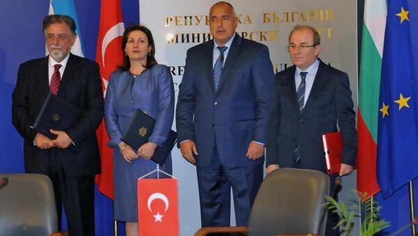 Türkiye, Bulgaristan ve Yunanistan güvenlik işbirliği anlaşması imzaladı - Sputnik Türkiye