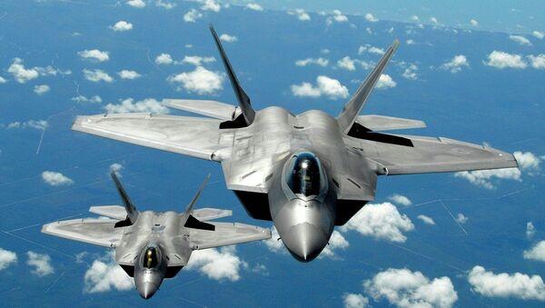 F-22 savaş uçağı - Sputnik Türkiye