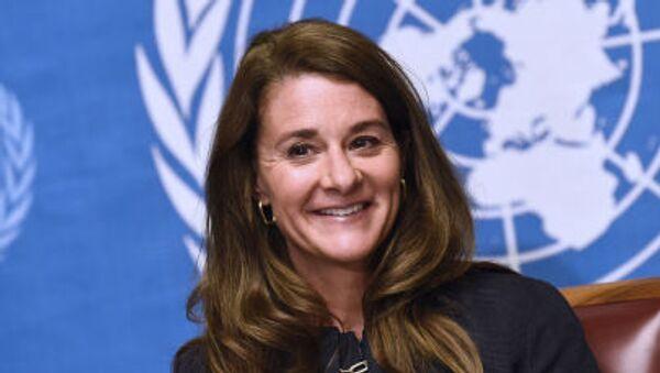 Bill ve Melinda Gates Vakfı Eş Başkanı Melinda Gates - Sputnik Türkiye