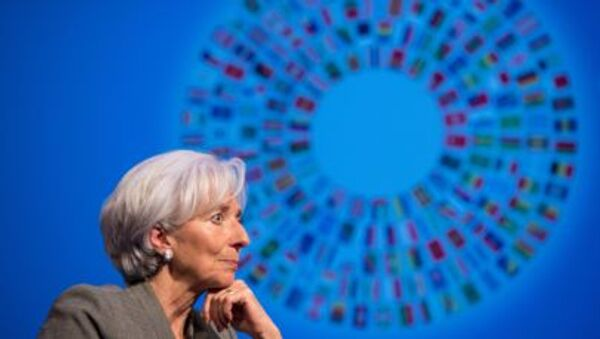 IMF Başkanı Christine Lagarde - Sputnik Türkiye