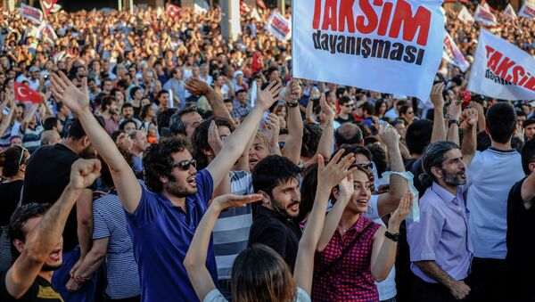 Gezi protestoları - Sputnik Türkiye