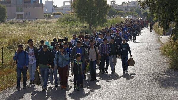 Kaçak göçmenler - Sputnik Türkiye