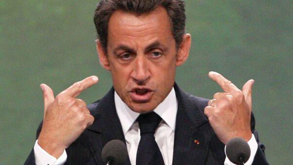 Eski Fransa Cumhurbaşkanı Nicholas Sarkozy - Sputnik Türkiye