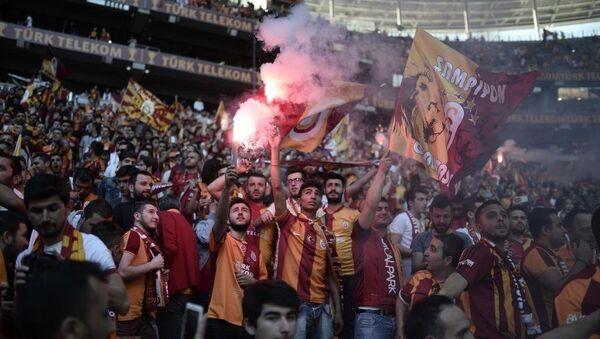 Galatasaray şampiyonluğunu kutluyor - Sputnik Türkiye