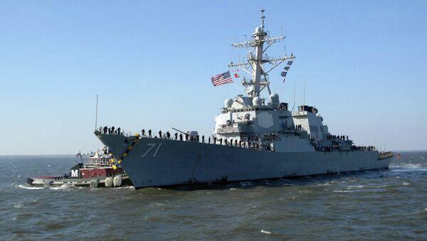 ABD savaş gemisi USS Ross - Sputnik Türkiye