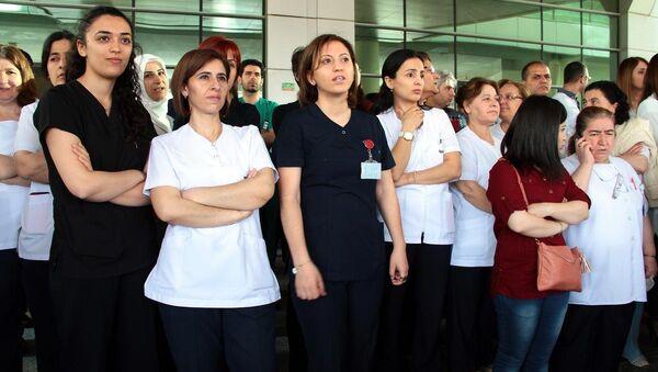 Sağlık çalışanları - Sputnik Türkiye