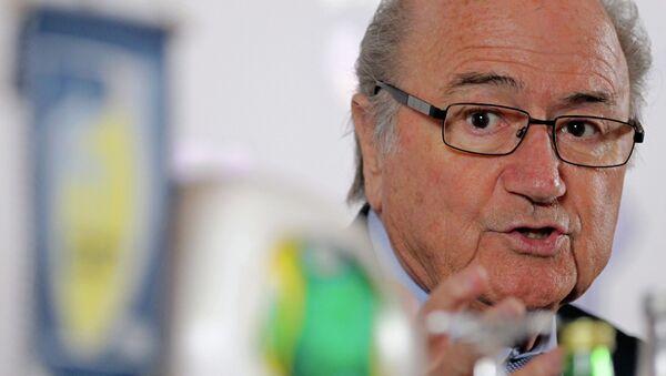 Eski FIFA Başkanı Sepp Blatter - Sputnik Türkiye