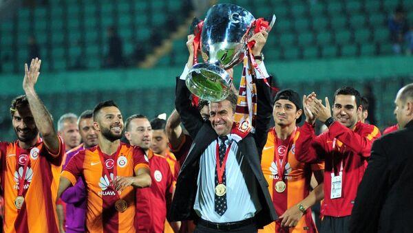 Ziraat Türkiye Kupasını kazanan Galatasaray - Sputnik Türkiye