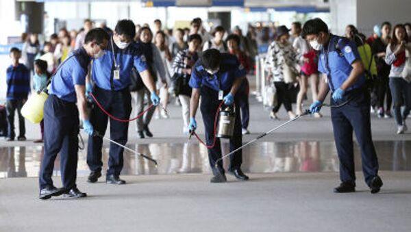 Güney Kore'de MERS önlemleri - Sputnik Türkiye