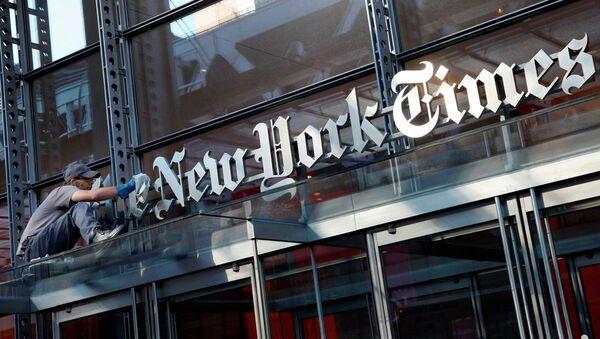 New York Times - Sputnik Türkiye