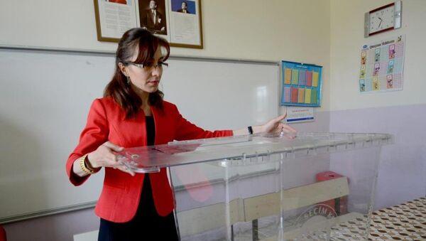Türkiye genel seçim sandık - Sputnik Türkiye
