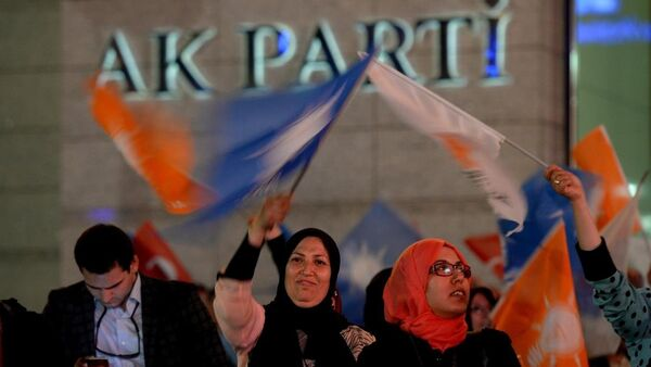 AK Parti - 7 Haziran - Sputnik Türkiye