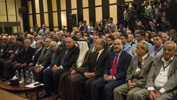 'Suriye'de Siyasi Çözüm İçin' toplantısı - Sputnik Türkiye