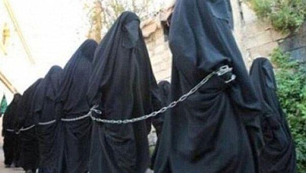 IŞİD - Köle pazarı - Sputnik Türkiye