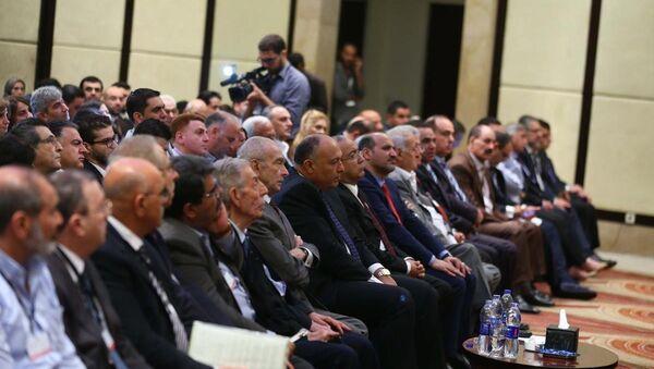 Mısır'daki Suriye toplantısı - Sputnik Türkiye