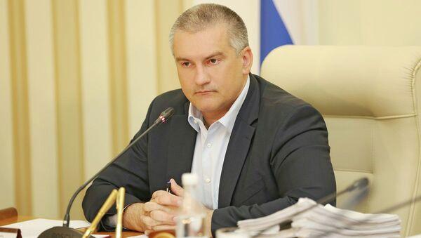 Kırım Cumhurbaşkanı Sergey Aksenov - Sputnik Türkiye