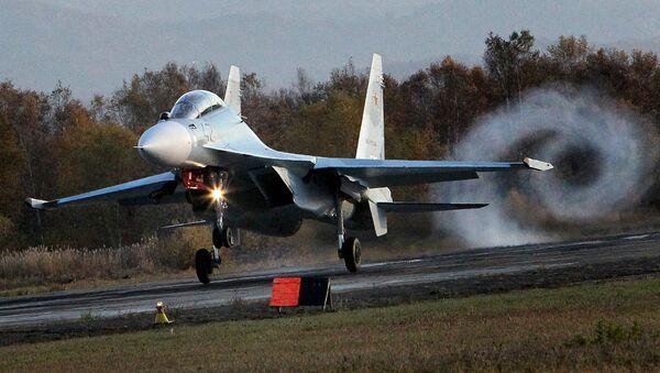 Çok amaçlı Su-30 M2 savaş uçağı. - Sputnik Türkiye