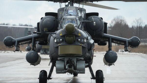 Mi-28 helikopteri - Sputnik Türkiye