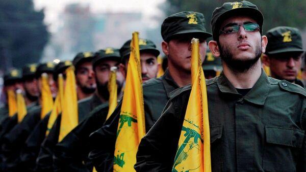 Hizbullah savaşçıları - Sputnik Türkiye