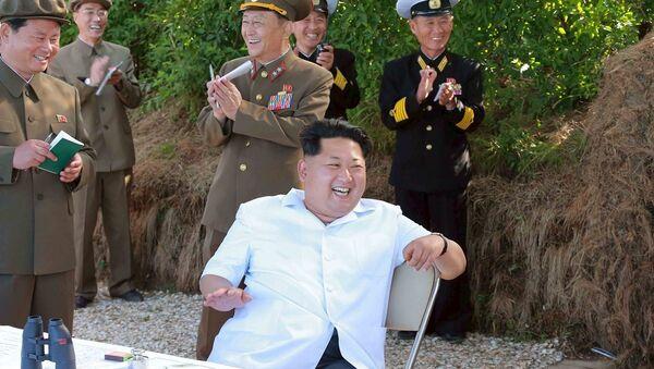 Kuzey Kore lideri Kim Jung-un - Sputnik Türkiye