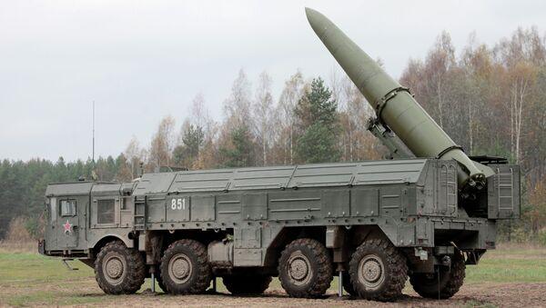 Rus yapımı füze sistemi İskender - Sputnik Türkiye