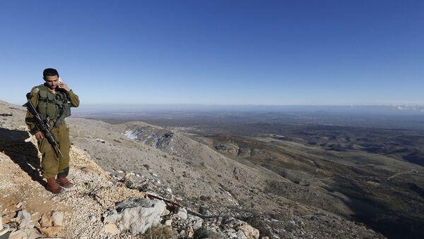 Golan Tepeleri - Sputnik Türkiye