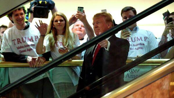 ABD'li milyarder işadamı Donald Trump - Sputnik Türkiye