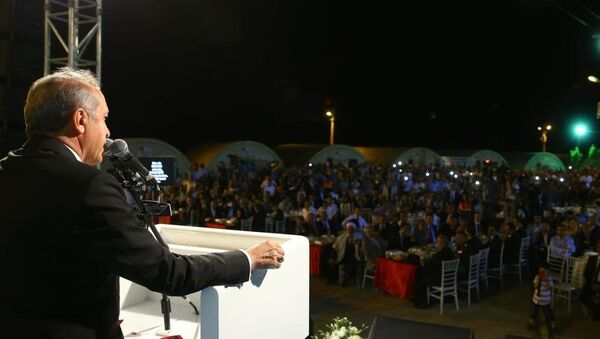 Cumhurbaşkanı Erdoğan Mardin'de - Sputnik Türkiye