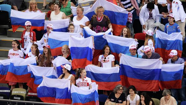 Rusya'ya akrobatik jimnastikte 4 disiplinde 2 altın,  bronz madalya - Sputnik Türkiye