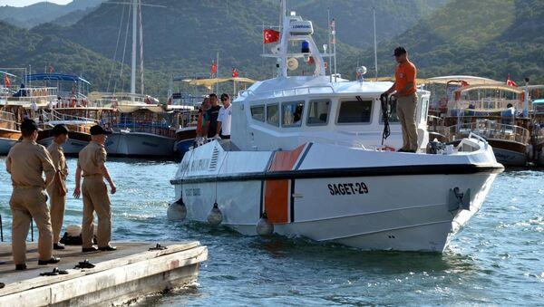 Sahil Güvenlik botu - Sputnik Türkiye
