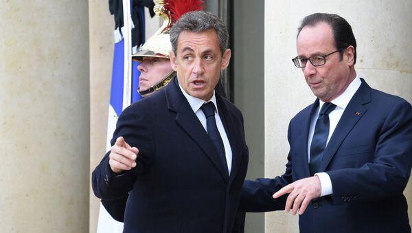 Nicolas Sarkozy-François Hollande - Sputnik Türkiye
