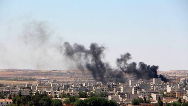 IŞİD Kobani'ye saldırdı - Sputnik Türkiye