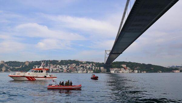 İstanbul'da sürat teknesi battı - Sputnik Türkiye