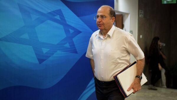 İsrail Savunma Bakanı Moşe Yalon - Sputnik Türkiye