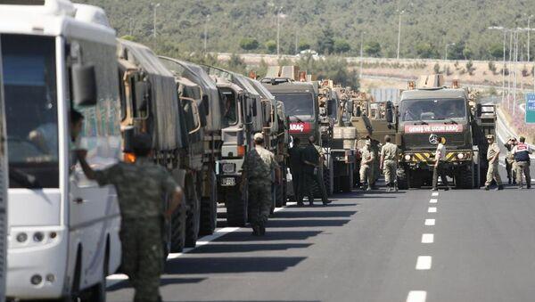 Suriye sınırındaki askeri önlemler - Sputnik Türkiye