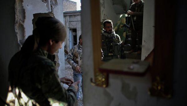 Suriye-YPG - Sputnik Türkiye