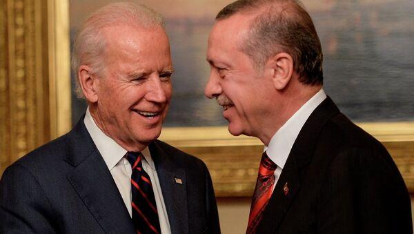Recep Tayyip Erdoğan ve Joe Biden - Sputnik Türkiye
