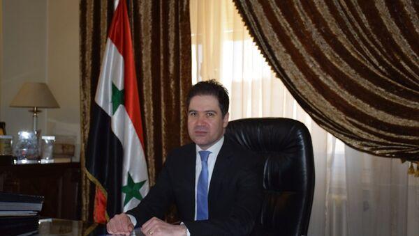 Suriye Turizm Bakanı Beşir Riyad Yazcı - Sputnik Türkiye