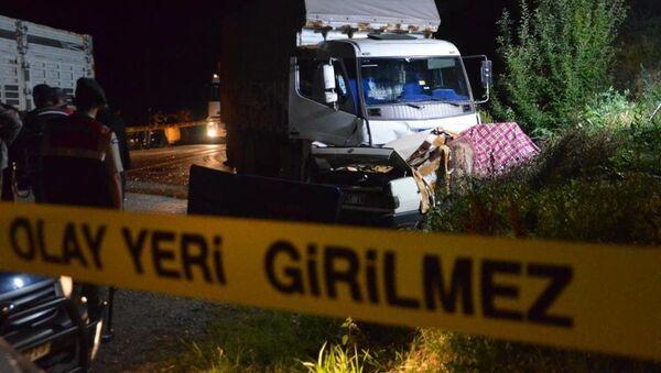 Kastamonu, trafik kazası - Sputnik Türkiye
